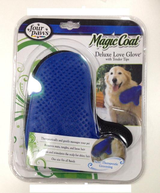Варежка для вычесывания шерсти животных Magic Coat Dog Grooming (фурминатор)