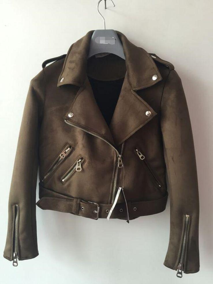 Женские кожаные куртки на весну-осень