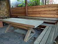 Стол деревянный, для загородного дома
