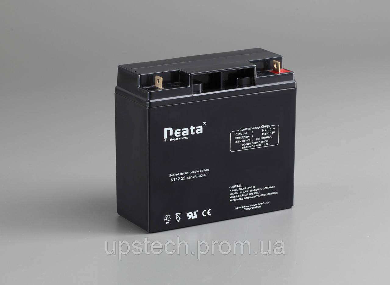 Аккумулятор NEATA 12V 22 Ah для UPS ибп