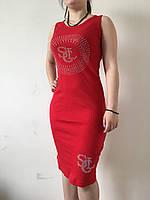 Платье-майка лапша Турция, огромный выбор расцветок