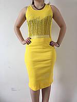 Платье-майка длина миди 11 ЦВЕТОВ р-ры 42-48
