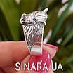 Мужская серебряная печатка кольцо Волк - Кольцо Волк серебро , фото 4
