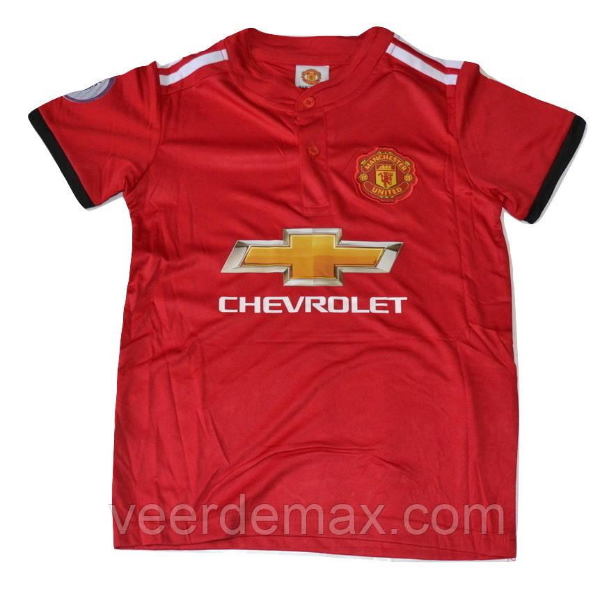 Футбольная форма Манчестер Юнайтед взрослая 2017/18