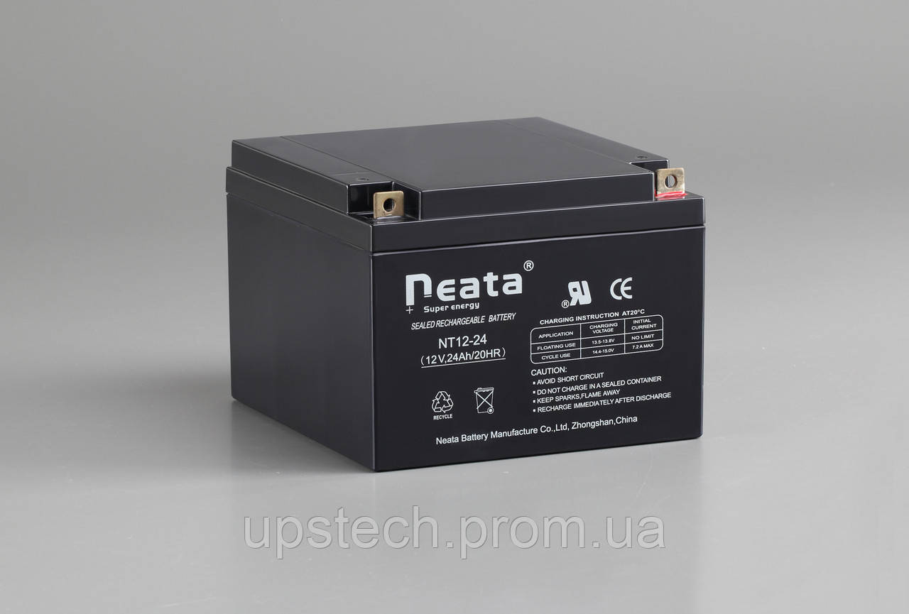 Аккумулятор NEATA 12V 24 Ah для UPS ибп
