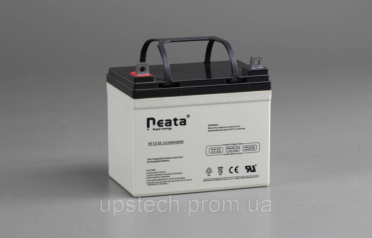 Аккумулятор NEATA 12V 33 Ah для UPS ибп