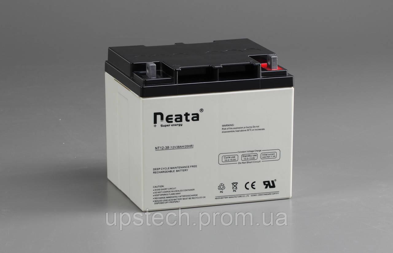 Аккумулятор NEATA 12V 38 Ah для UPS ибп