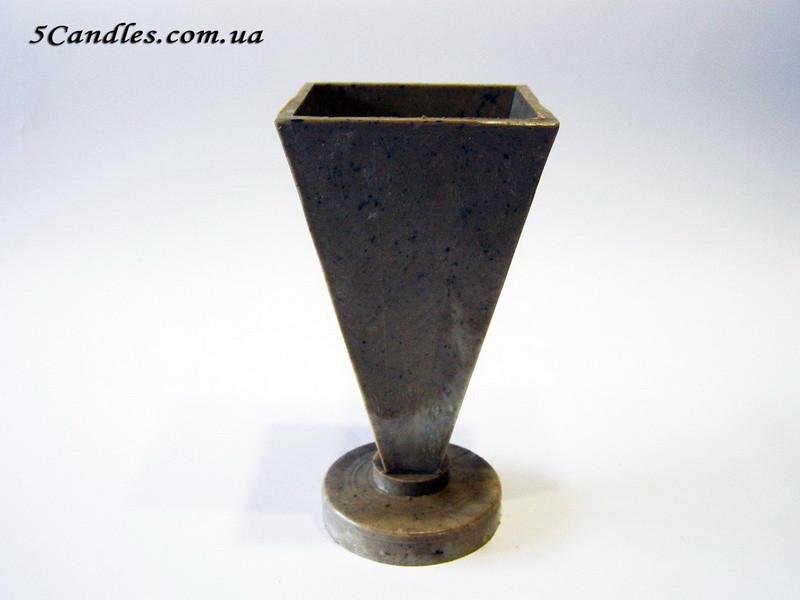 Форма для свечей - Пирамида (7*7*16см)