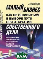 К. Рудольф, А. Хачатурян Малый бизнес. Как не ошибиться в выборе пути при открытии собственного дела. Методические рекомендации по созданию малого