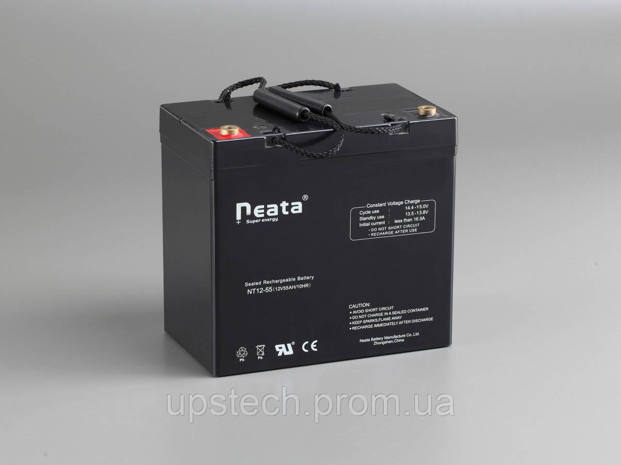 Аккумулятор NEATA 12V 55 Ah для UPS ибп