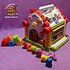 Теремок - игрушка развивающая сортер , фото 2