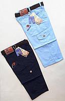 Бриджи- шорты цветные юниор для мальчиков 8-12 лет. Турция. Оптом