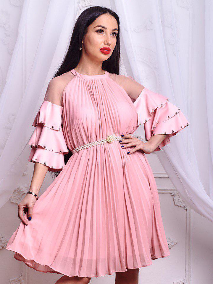 Шикарное платье .(658)