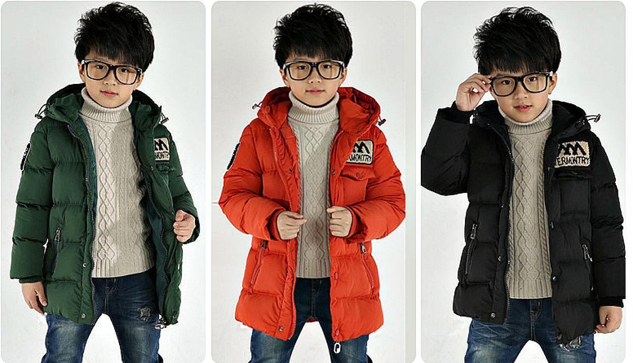 Подростковая толстая, теплая куртка-пуховик с капюшоном на меху с капюшоном.