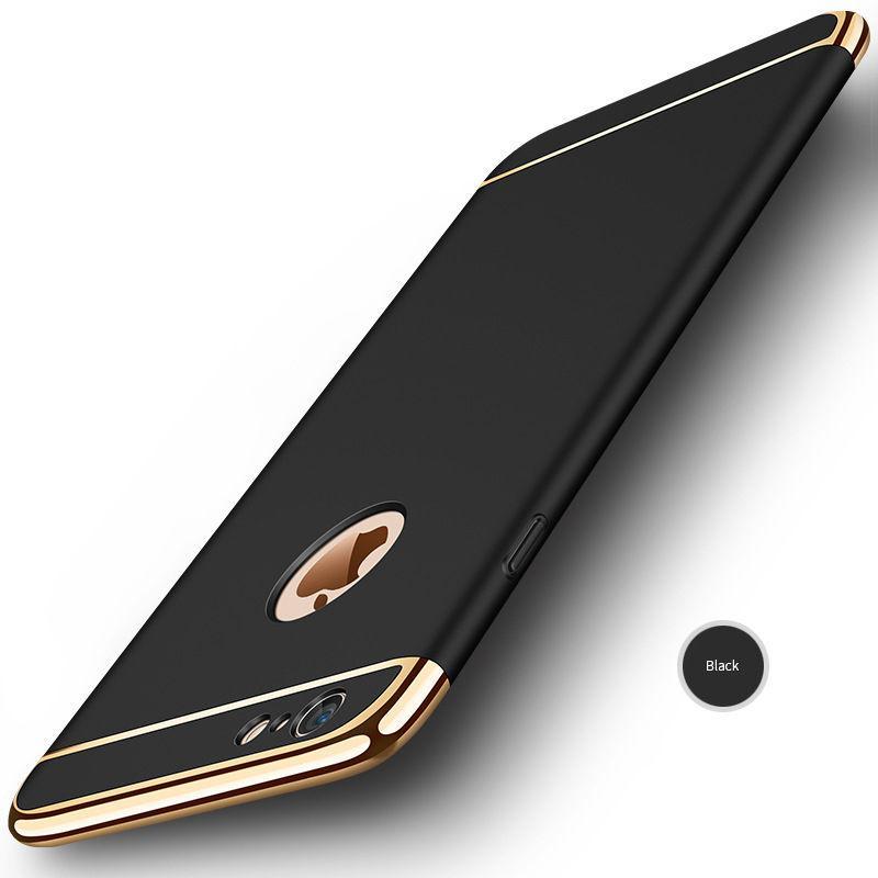 Противоударный чехол для iPhone 5 5S SE 6 6S плюс роскошный 3in1 Дизайн Electroplated Жесткий PC