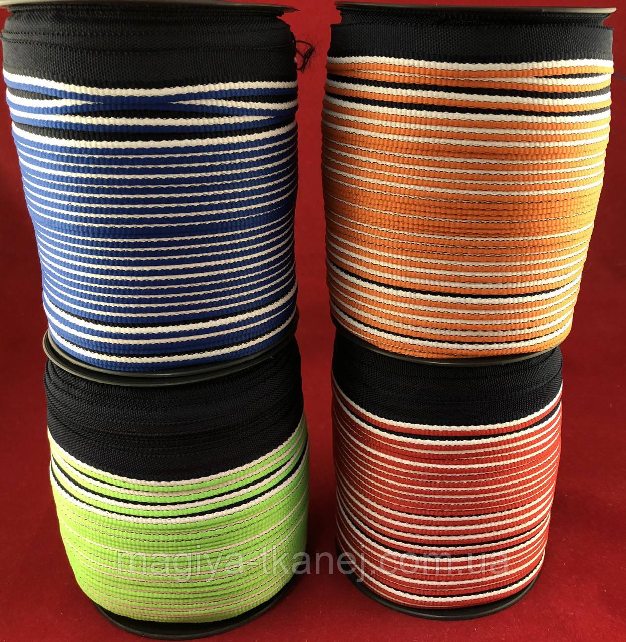 Кант одежный отделочный цветной