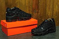 Мужские кроссовки  Nike TN VaporMax  черные найк- Текстильная сетка,Вьетнам, размеры:41-45 Топ качество!, фото 1