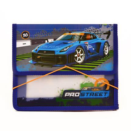 "Папка на резинке ""YES"" B5 пластик 491387 ""Street racing"", фото 2"