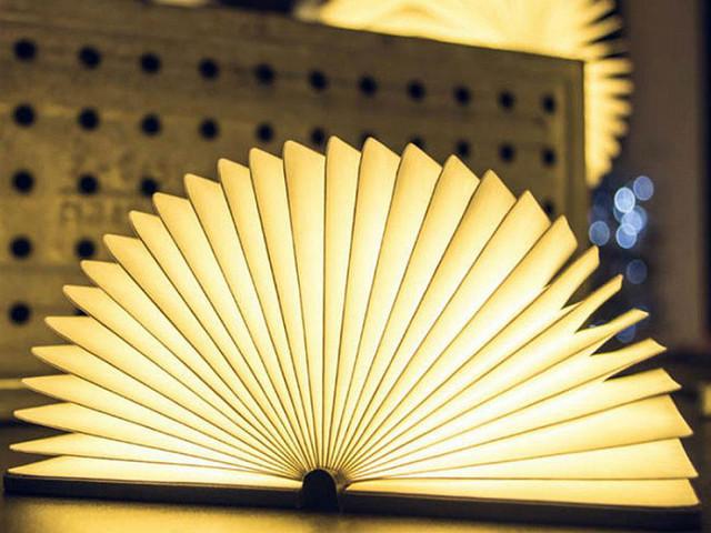 Книга-светильник