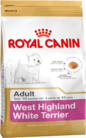 Royal Canin WESTIE ADULT 0,5кг корм для собак породы вест-хайленд-уайт-терьер возрасте старше 10 мес