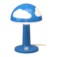 SKOJIG Лампа настольная, синий