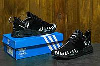 Мужские кроссовки  Adidas NMD адидас Топ качество!-черные   - Сетка,подошва пена,размеры: 41-45 Вьетнам, фото 1