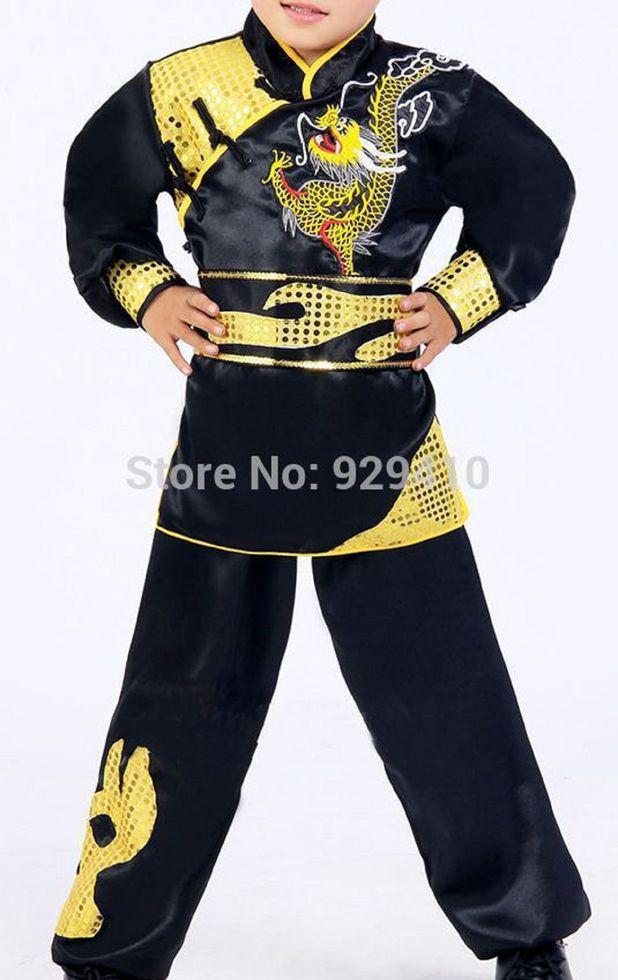Унисекс Детская костюмы для боевых искусств у ушу Тай Чи
