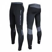 Компрессионные штаны Radical Thunder, черные с серыми вставками