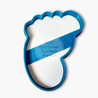 """3D формы для пряников - Вырубка """"Ножка Младенца"""" 11 см"""