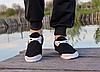 Мокасины - чешки мужские черные на шнурках, фото 4