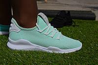 Женские кроссовки Adidas сетка зеленые, копия, фото 1