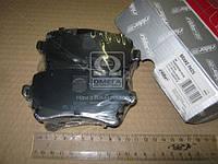 Колодки тормозные дисковые VW TRANSPORTER (T5) 03- задние (без датчика) Гарантия