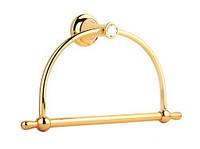 Кольцо для полотенца, золото, кристалы, фото 1
