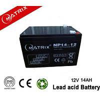 Аккумулятор MATRIX 12V 14 Ah для UPS ибп