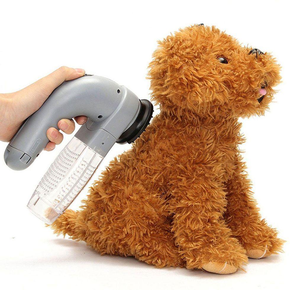 Электрический пылесос для домашних животных.