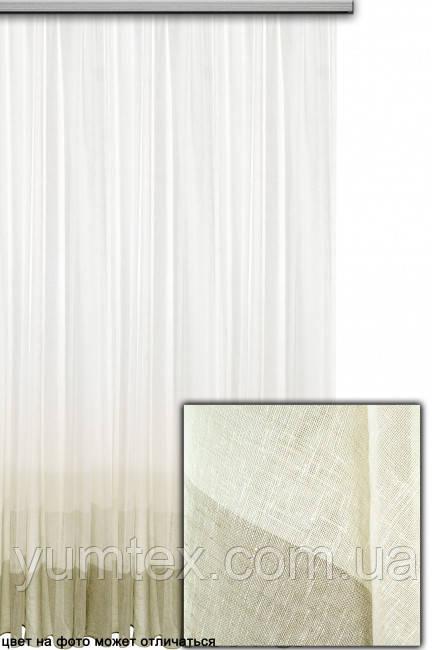 Тюль лен рисунок омбре Маркиз
