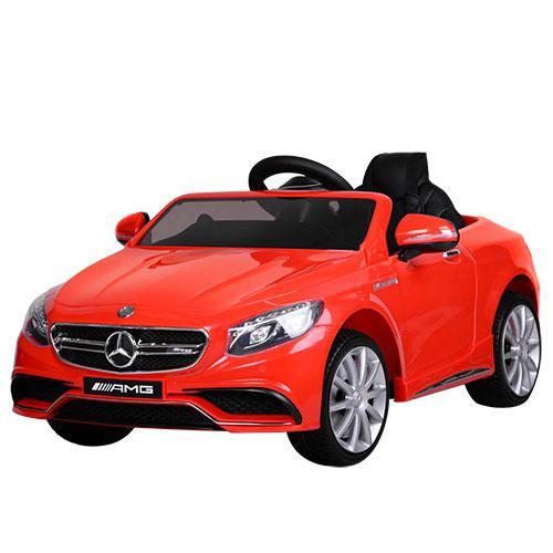 Детский электромобиль Mercedes M 2797EBLR-3 красный
