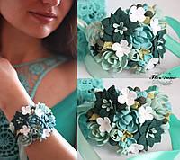 """Браслет на руку с цветами """"Мята"""", фото 1"""