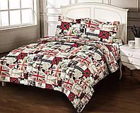 Двуспальный комплект постельного белья бязь-gold 4389 хлопок