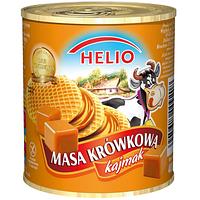Сгущенное молоко с карамелью без глютена Masa krowkowa Helio 400г Польша
