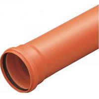 Труба для наружной канализации  д.110х2.2х1000