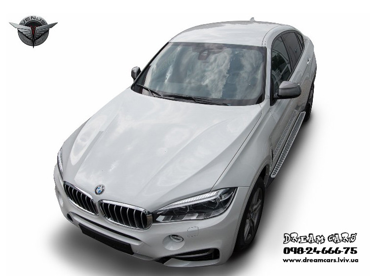 ПОРОГИ (ПОДНОЖКИ БОКОВЫЕ) BMW X6 F16 2014-...