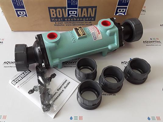 Трубчатый теплообменник Bowman 100 кВт FC100–5114–2C Cupro Nickel