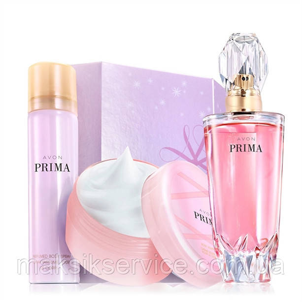 Парфюмированная вода Prima Avon набор