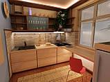 Кухни на заказ недорого. дизайн БЕСПЛАТНО fasoff, фото 4