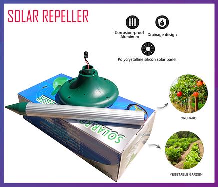 Отпугиватель кротов на солнечной батарее Solar Repeller, фото 2