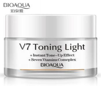 Крем для лица,база- основа под макияж V7 Toning Light Bioaqua 50 ml