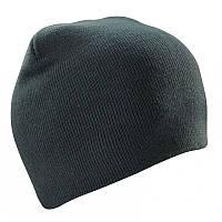 Шапка двойная Cofee ( вязанные шапки ) Серый