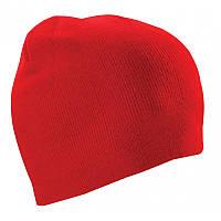Шапка двойная Cofee ( вязанные шапки ) Красный