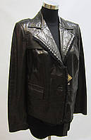Кожаный пиджак-Супер цена